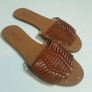 NWOT Madewell Cognac Sandals Size 9